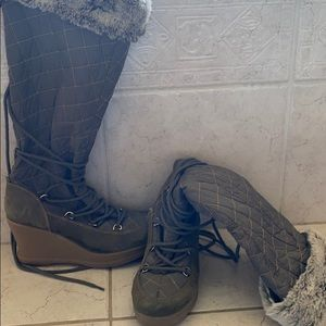 Kodiak Quilted lace up winter boot